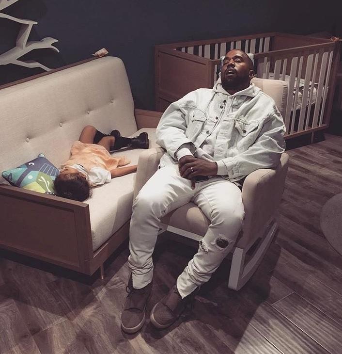 Kanye West. Fot. screen Instagram