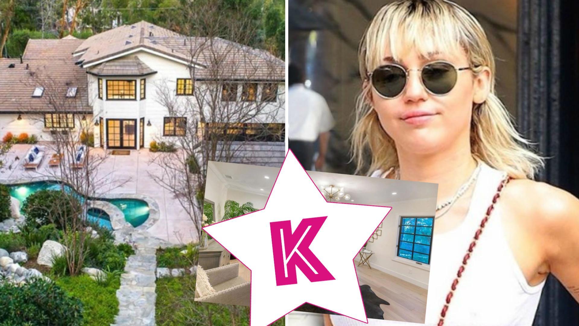 Miley Cyrus kupiła LUKSUSOWY dom za blisko 5 milionów dolarów. Garderoba robi wrażenie
