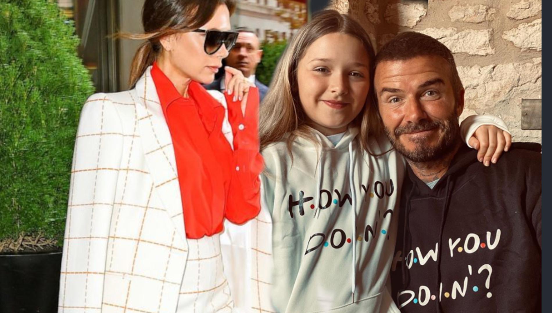 Harper Beckham MALUJE paznokcie. 9-latka chce być jak słynna mama?