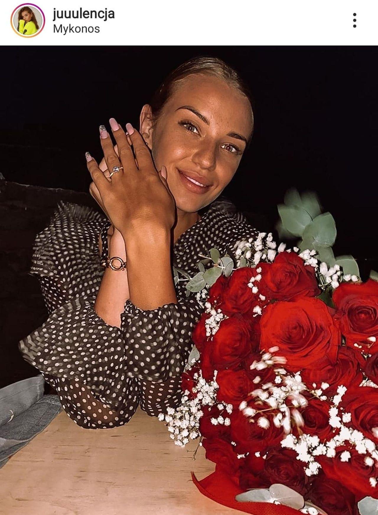 Jan Bednarek i Julia Nowak zaręczyli się