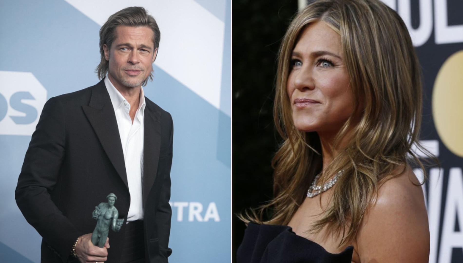 Jennifer Aniston i Brad Pitt RAZEM na gali? To bardzo możliwe