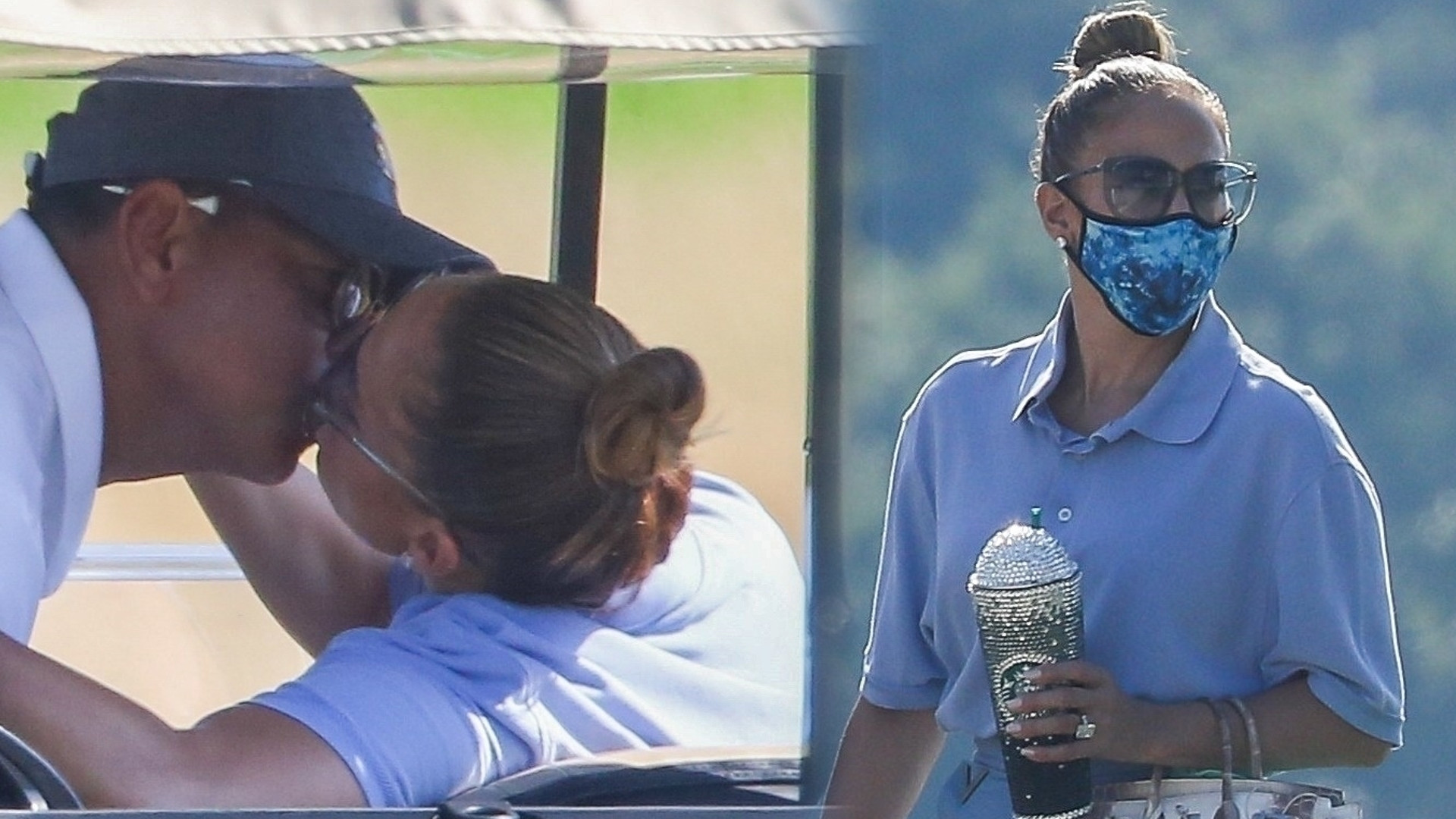 Jennifer Lopez i Alex Rodriguez namiętnie się całują. Piosenkarka trzyma w ręku NAJDROŻSZĄ torebkę na świecie (ZDJĘCIA)