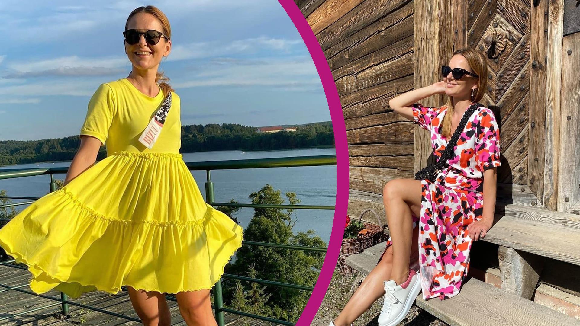 """Paulina Sykut-Jeżyna zachwala mazurskie pierogi, a fani zwracają uwagę na coś innego. """"Co tam pierogi, ja patrzę na brzuszek"""""""