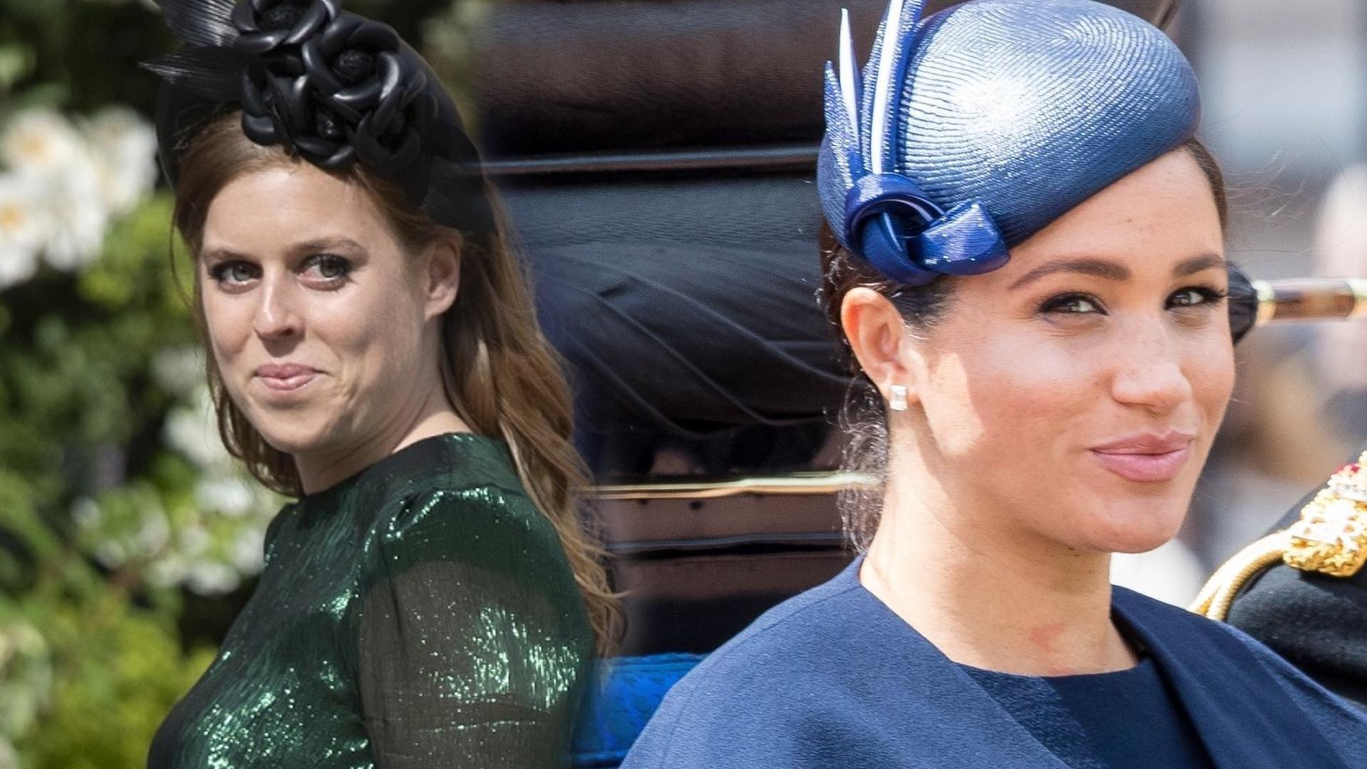 Meghan Markle doprowadziła księżniczkę Beatrice do łez w dniu jej ślubu