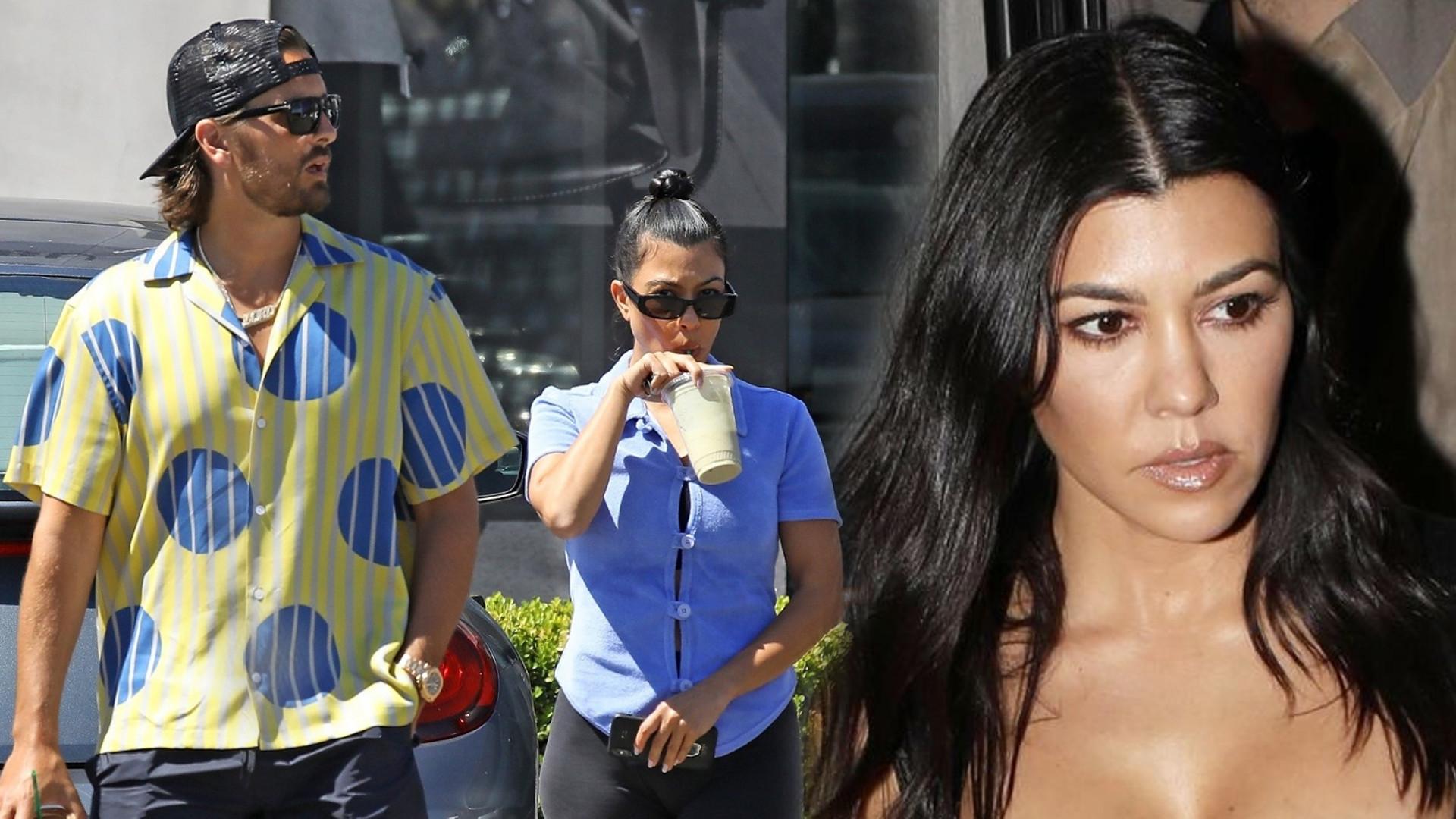 Kourtney Kardashian na wspólnych wakacjach ze Scottem – nazywa go MĘŻEM