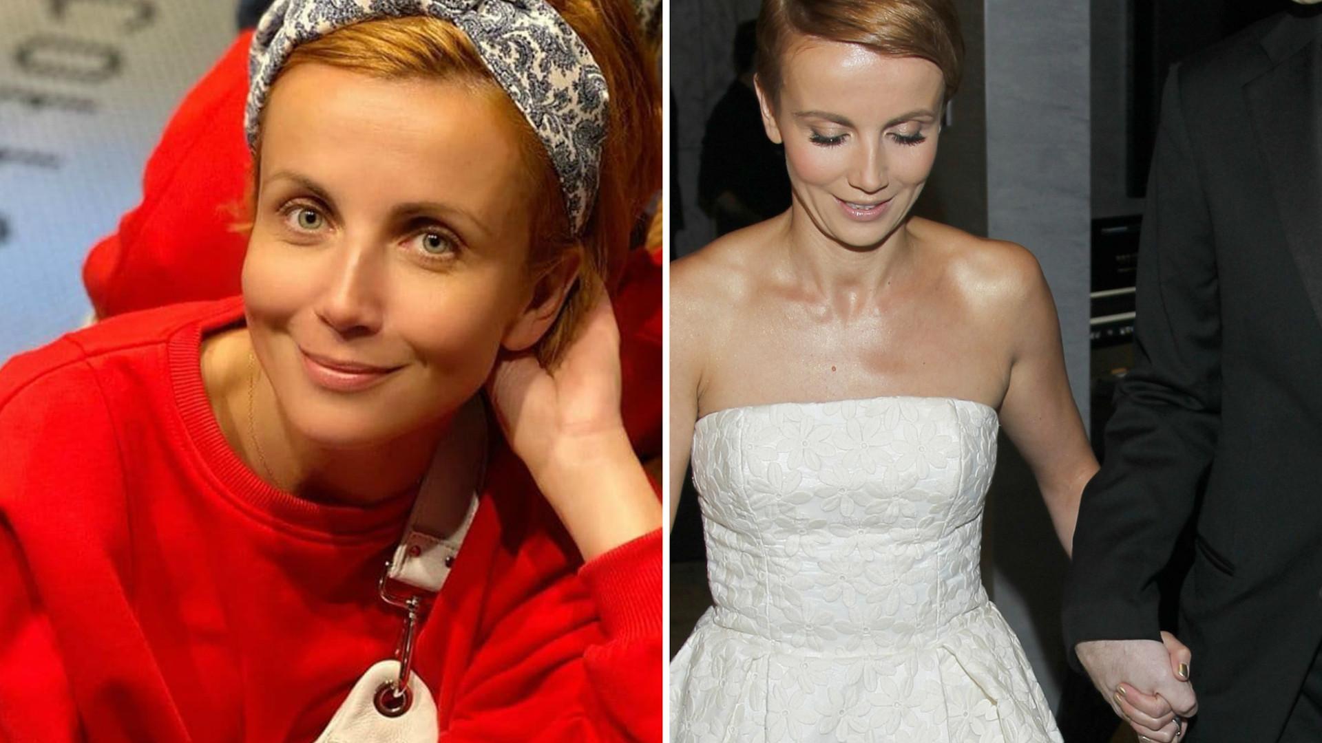 """Katarzyna Zielińska świętuje rocznicę ślubu. """"Poślubiłam Wojtusia. Jest mi z nim superowo"""""""