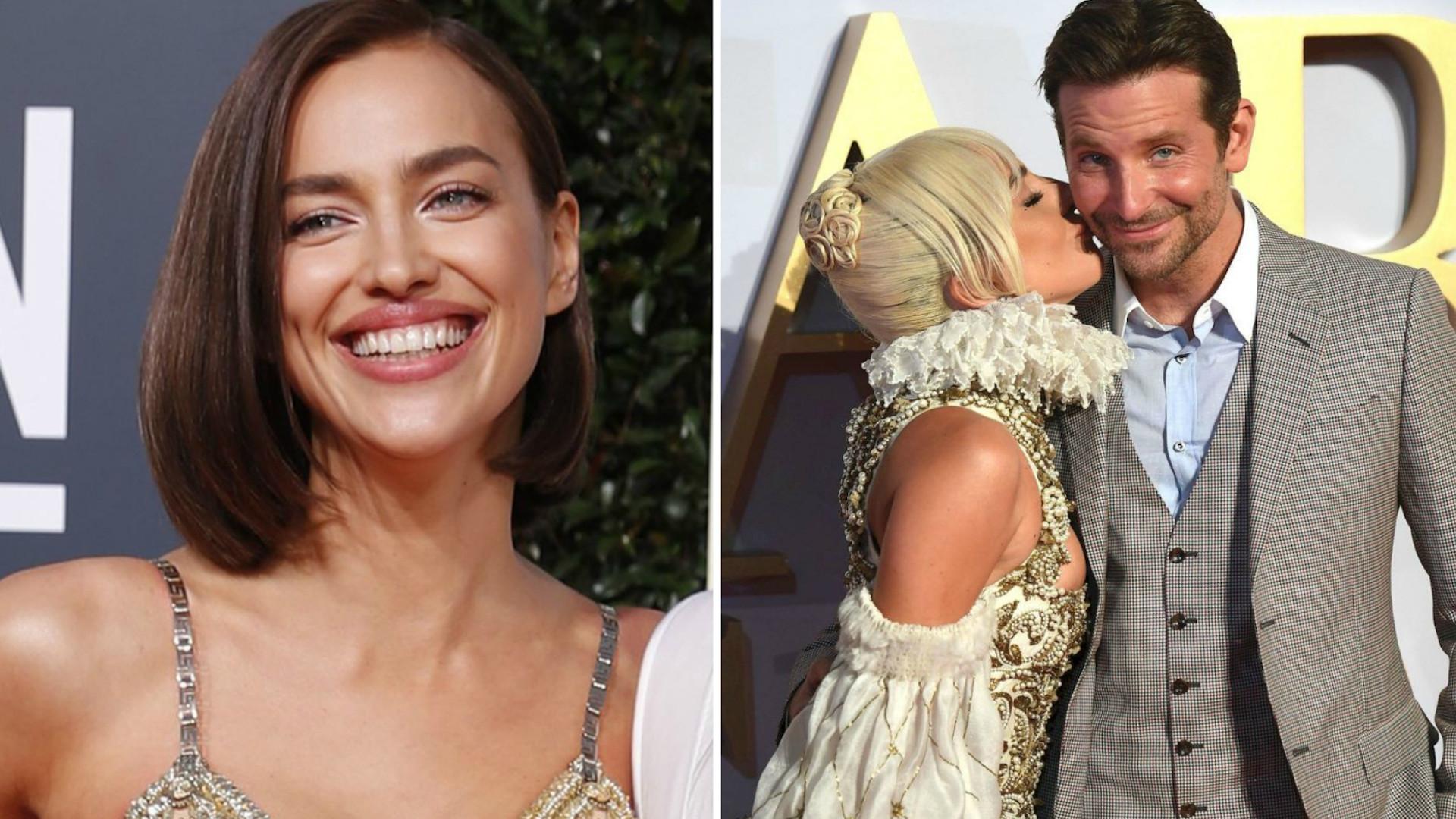 Lady Gaga i Bradley Cooper nie komentowali romansu, przez UMOWĘ z Iriną Shayk?
