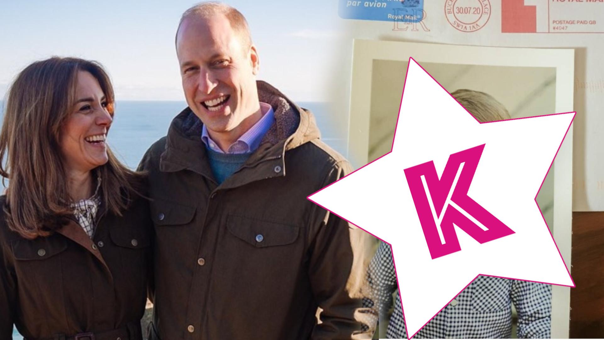 OMG! Kate i William wysłali fance niepublikowane dotąd zdjęcie księcia Louisa
