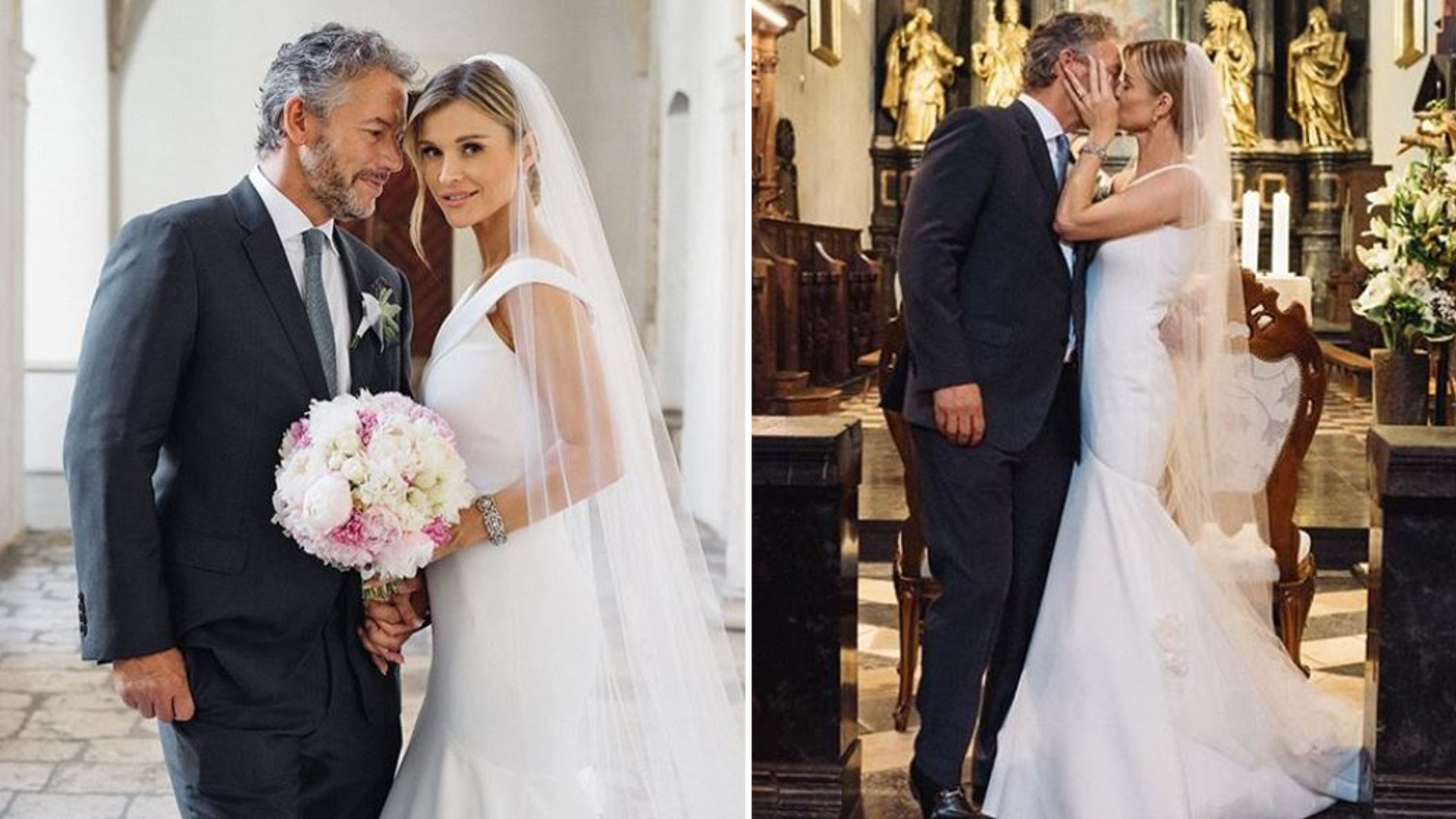 Joanna Krupa świętuje z mężem drugą rocznicę ślubu – pokazała filmik z wesela