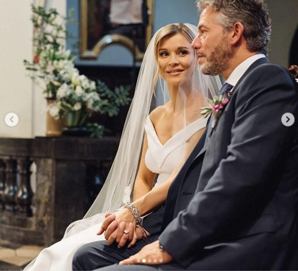 Joanna Krupa i Douglas Nunes w dniu swojego ślubu.