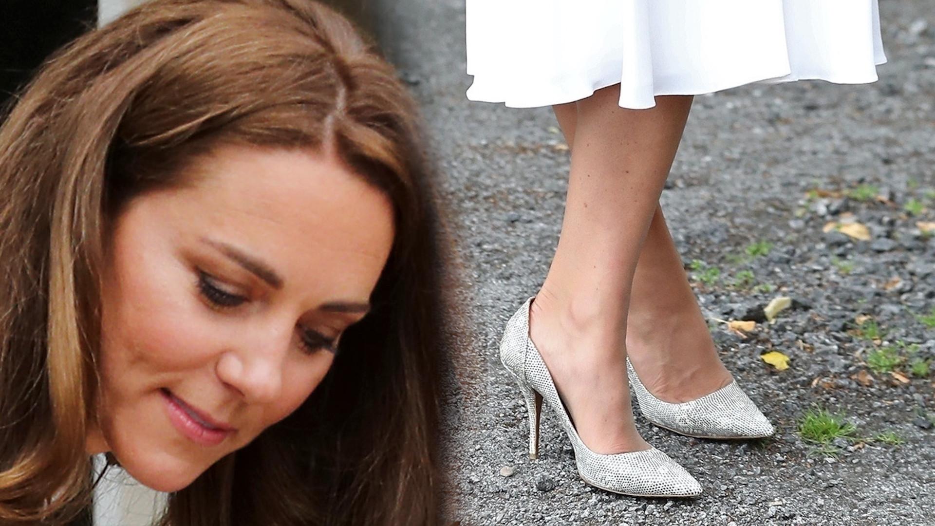 Kate Middleton pomaga wolontariuszom w sukience za 9 tysięcy złotych