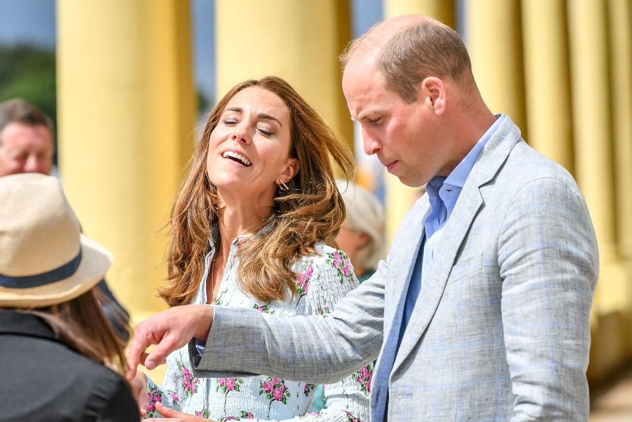 Kate Middleton, książę William w Południowej Walii