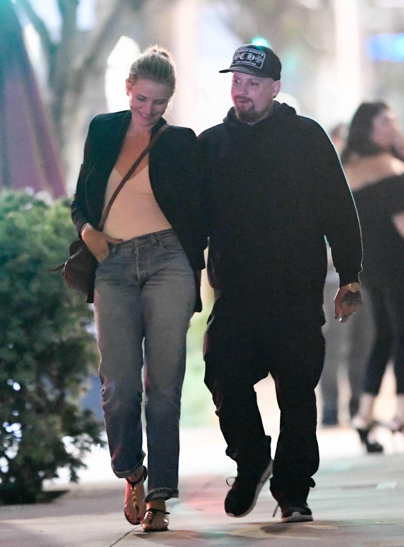 Cameron Diaz z mężem na randce.
