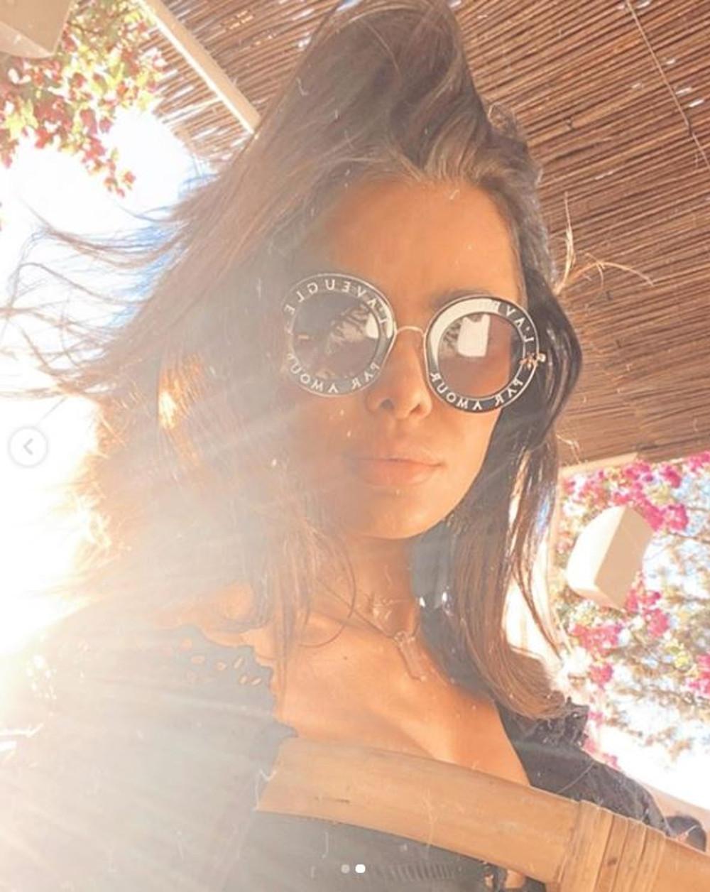 Natalia Siwiec w okularach Gucci.