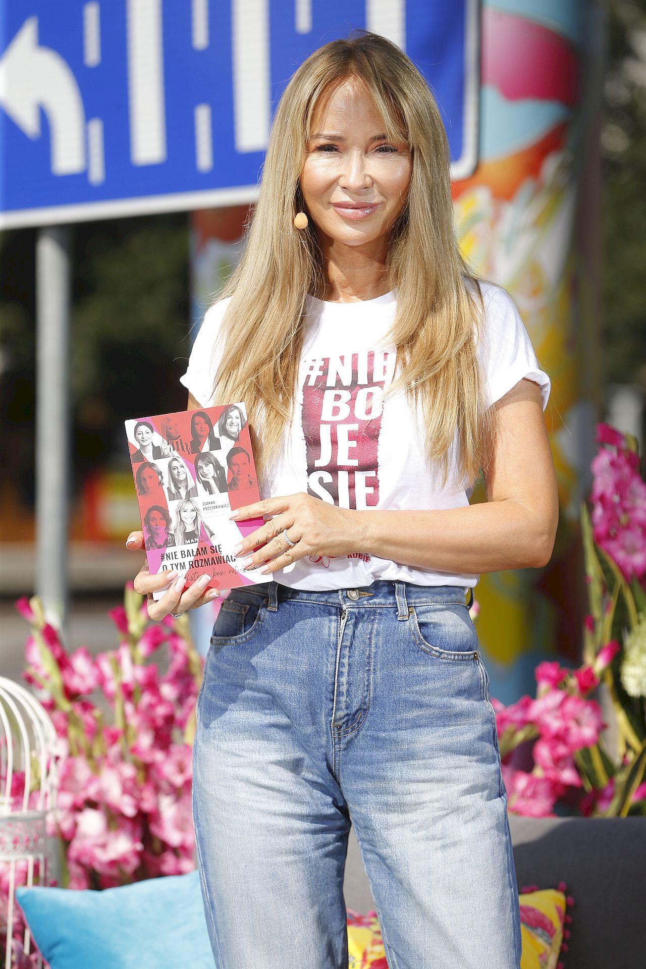 Joanna Przetakiewicz promuje akcję #niebojesię
