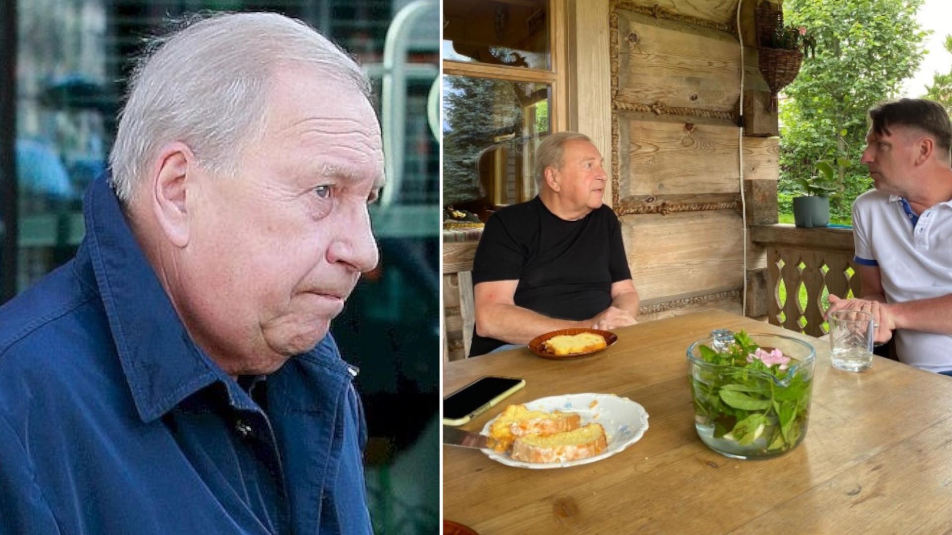Jerzy Stuhr udzielił wywiadu Tomaszowi Lisowi. Trafił do szpitala przez wyniki wyborów?