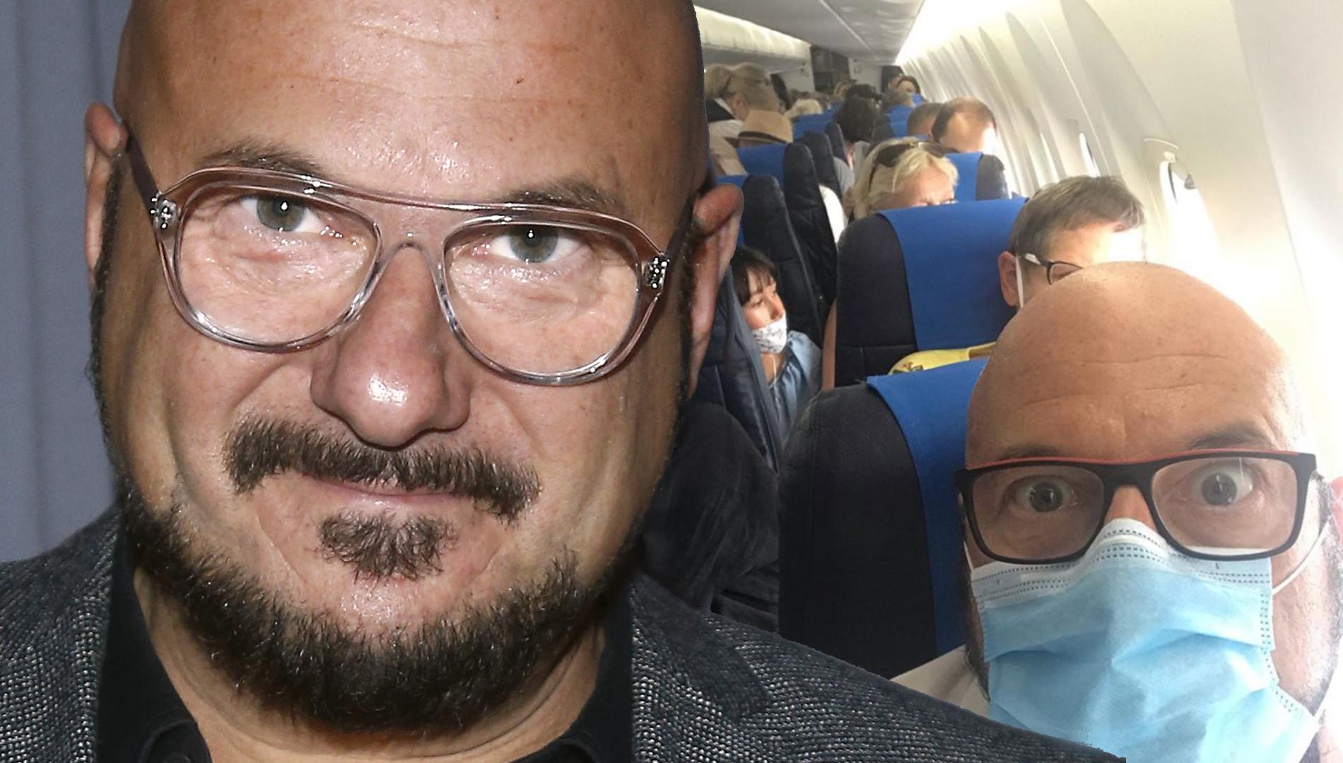 """Piotr Gąsowski o stewardessach w czasie COVID-19. """"Muszą takie głupoty odczytywać"""""""