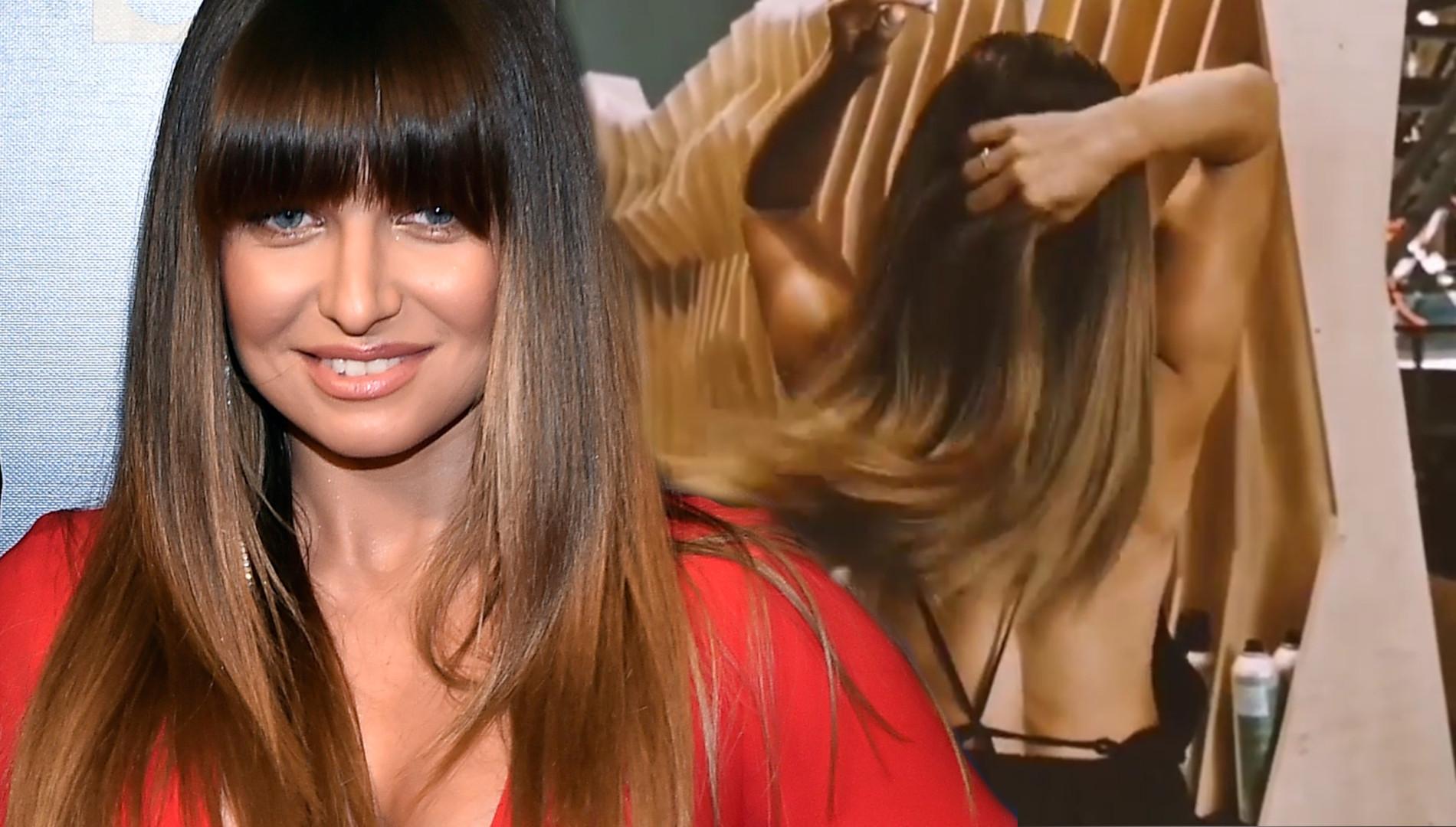 Anna Lewandowska pokazała włosy po wizycie u fryzjera. Zagęściła je?