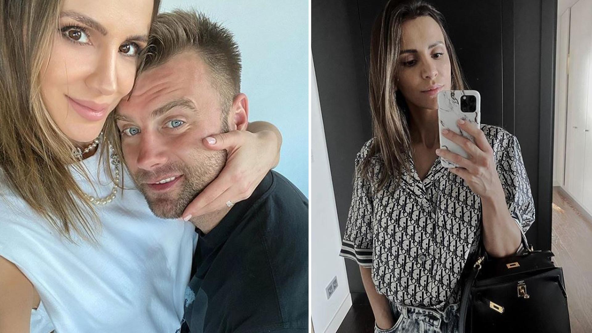 """Sara Boruc dodała ODWAŻNE zdjęcie z mężem przy basenie: """"Uwielbiam patrzeć na szczęśliwych ludzi"""""""