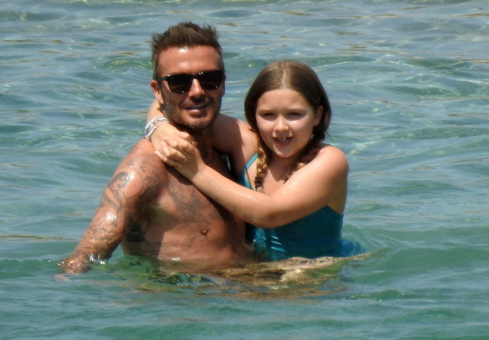 David Beckham z Harper