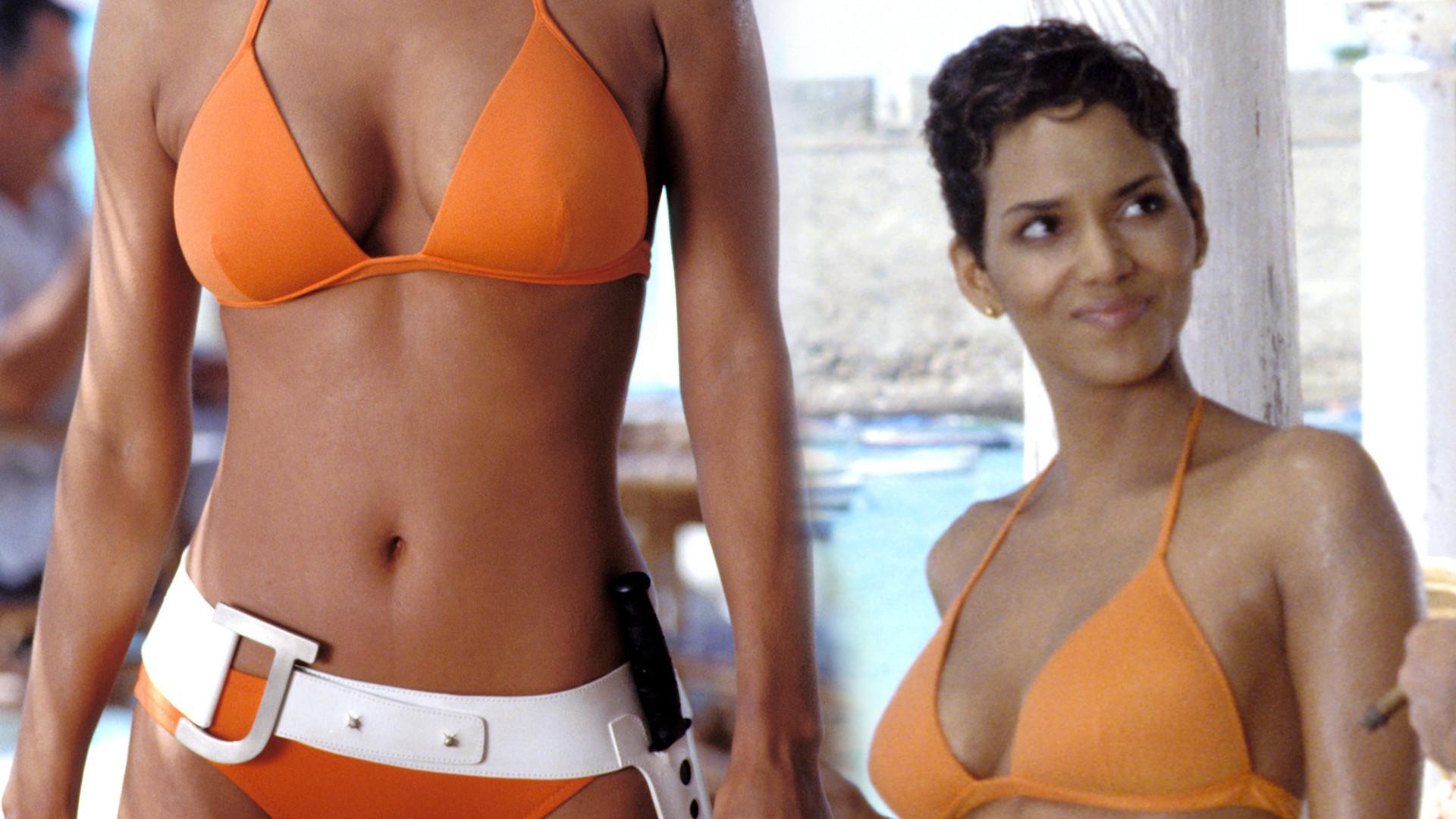 Halle Berry odtworzyła kultową scenę z Bonda – 18 lat! minęło a ona dalej ZACHWYCA figurą w bikini