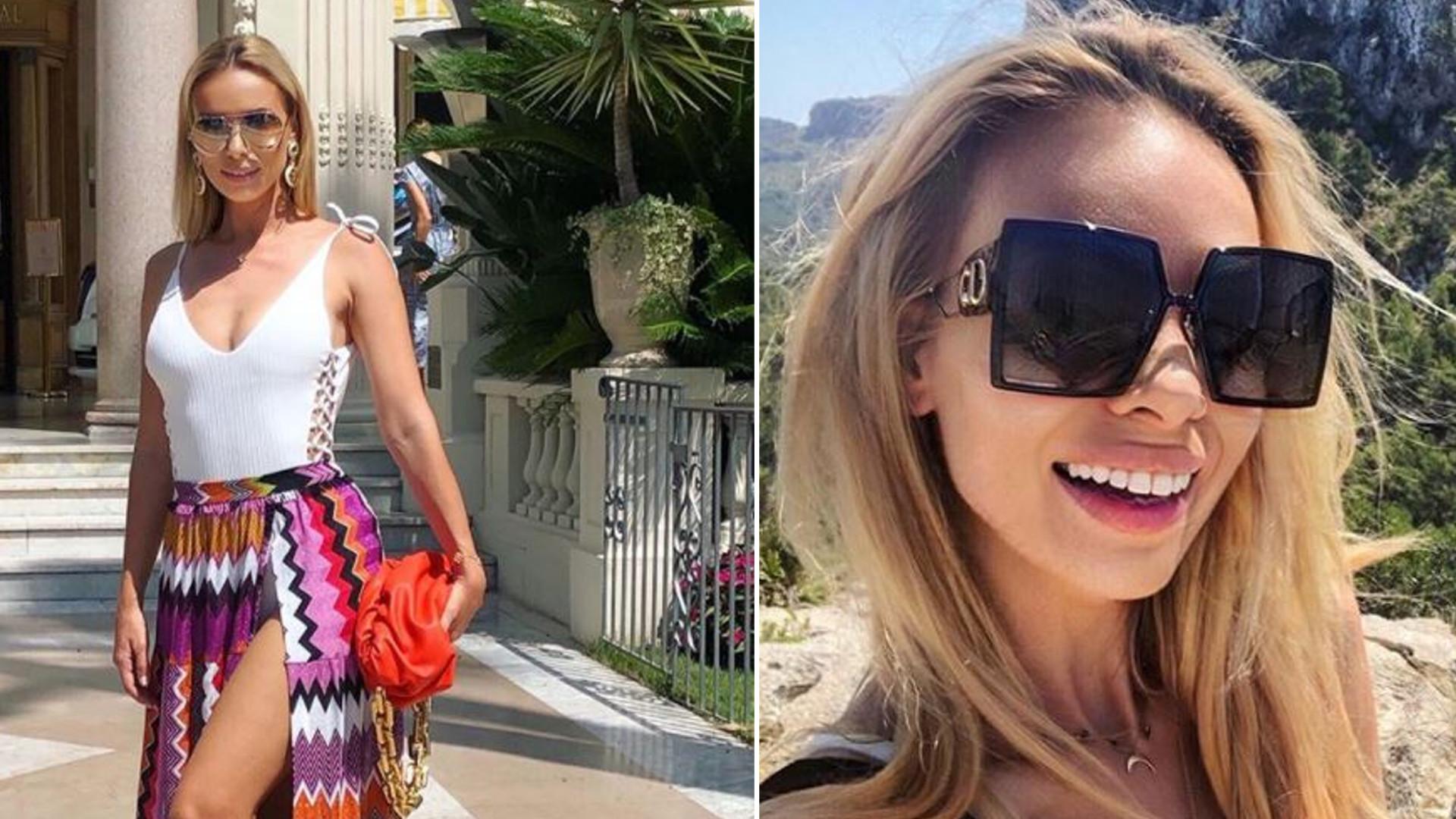Izabela Janachowska wyjechała do Cannes i pokazała się w stylizacji, jak na czerwony dywan