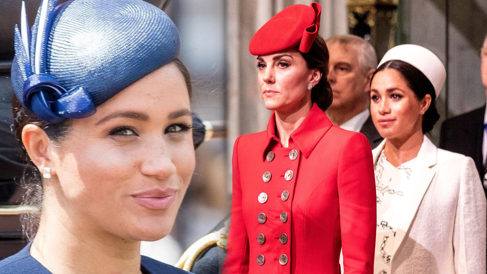 Co NAPRAWDĘ wydarzyło się podczas pierwszego spotkania Meghan Markle i Księżnej Kate?