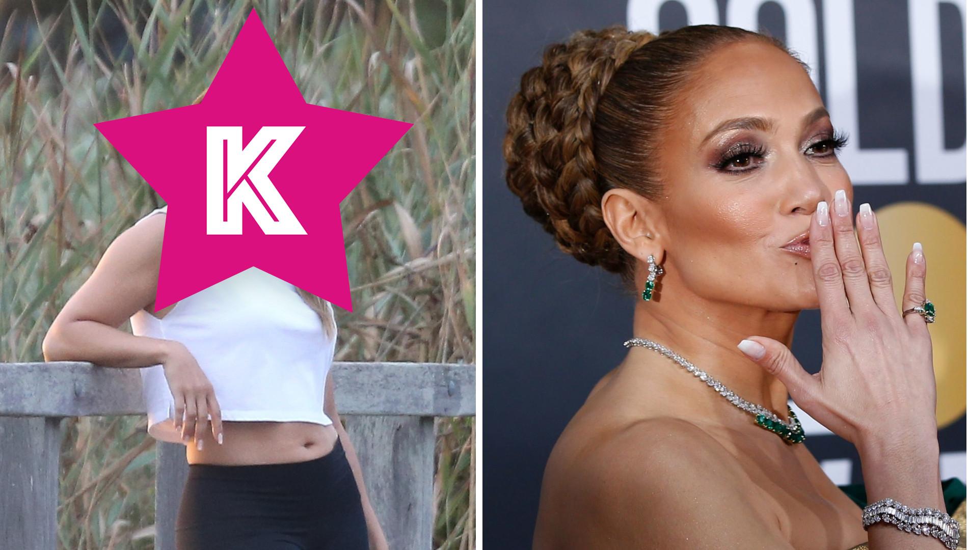 Zobacz Jennifer Lopez BEZ MAKIJAŻU. Duża różnica?