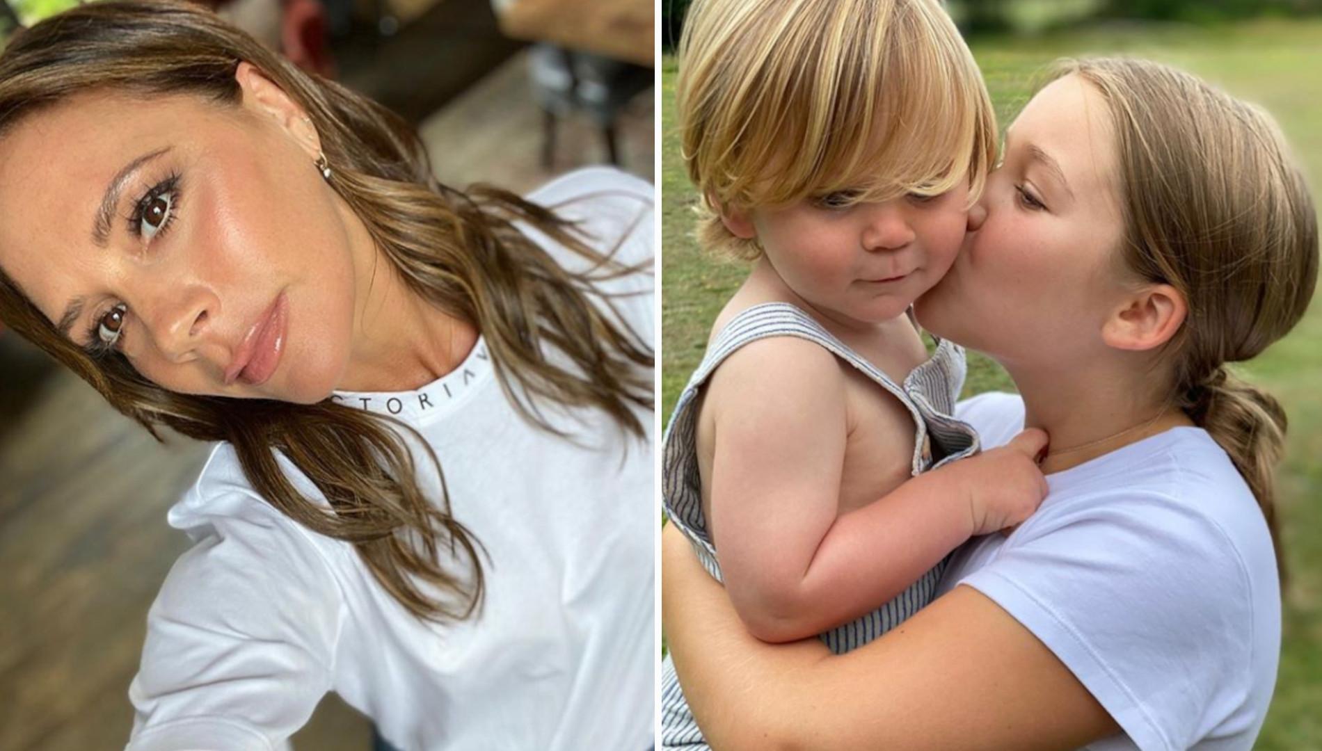 Harper Beckham CAŁUJE syna Gordona Ramsaya. Urocze?