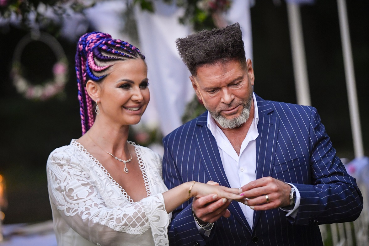 Krzysztof Rutkowski, Maja Rutkowski. Fot. fot. AKPA/AKPA