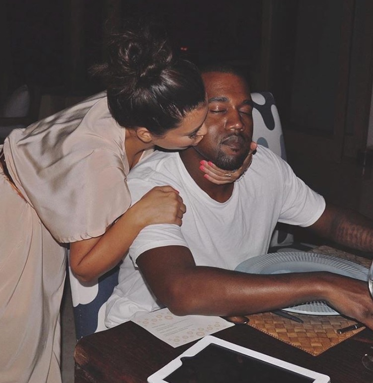 Kim Kardashian i Kanye West. Fot. Instagram