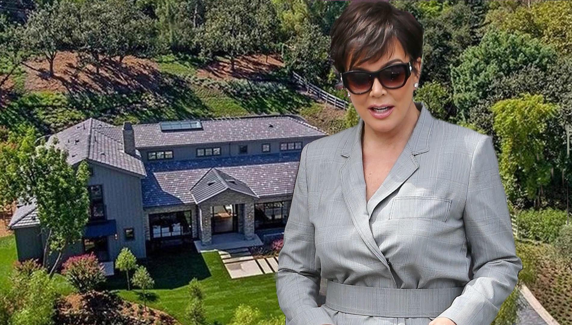 Kris Jenner sprzedała dom. ZOBACZ, JAK MIESZKAŁA (ZDJĘCIA)