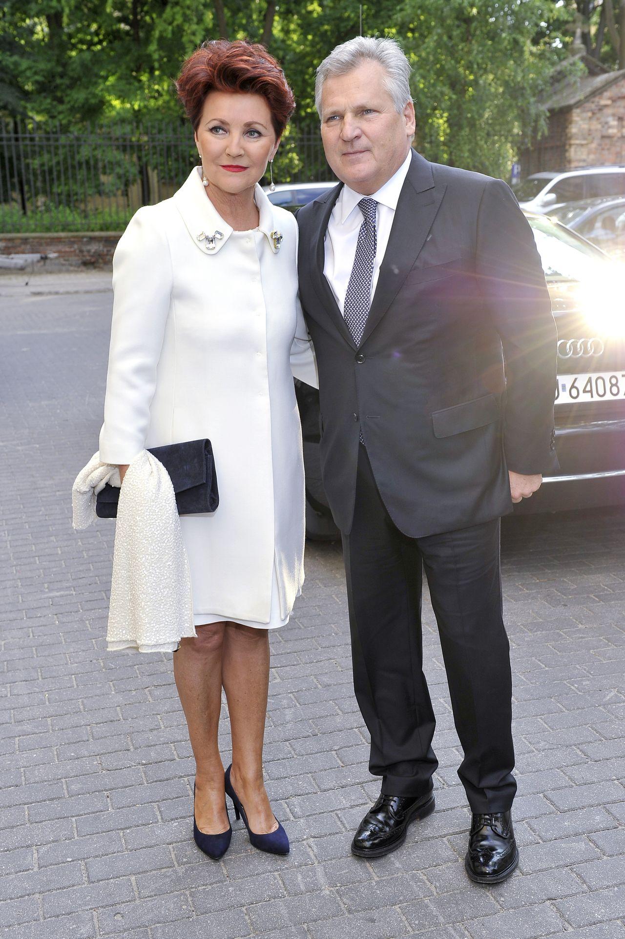 Jolanta Kwaśniewska, Aleksander Kwaśniewski