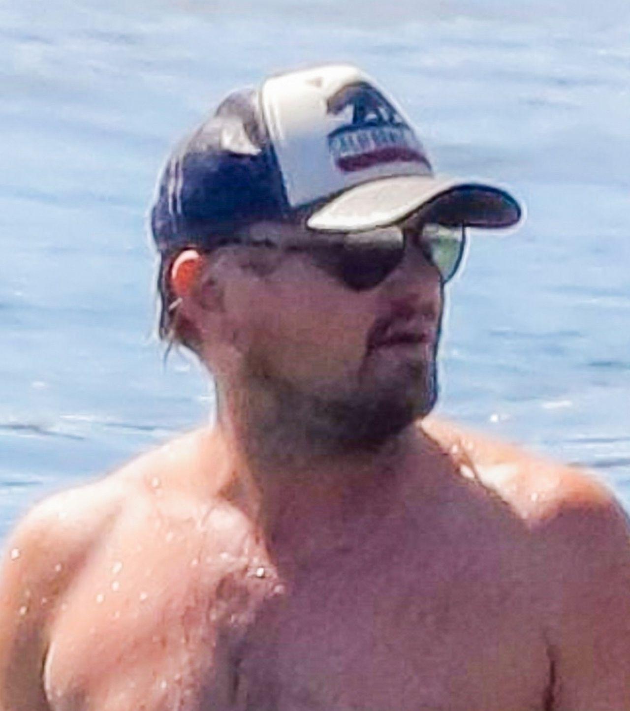 Leonardo DiCaprio nad morzem