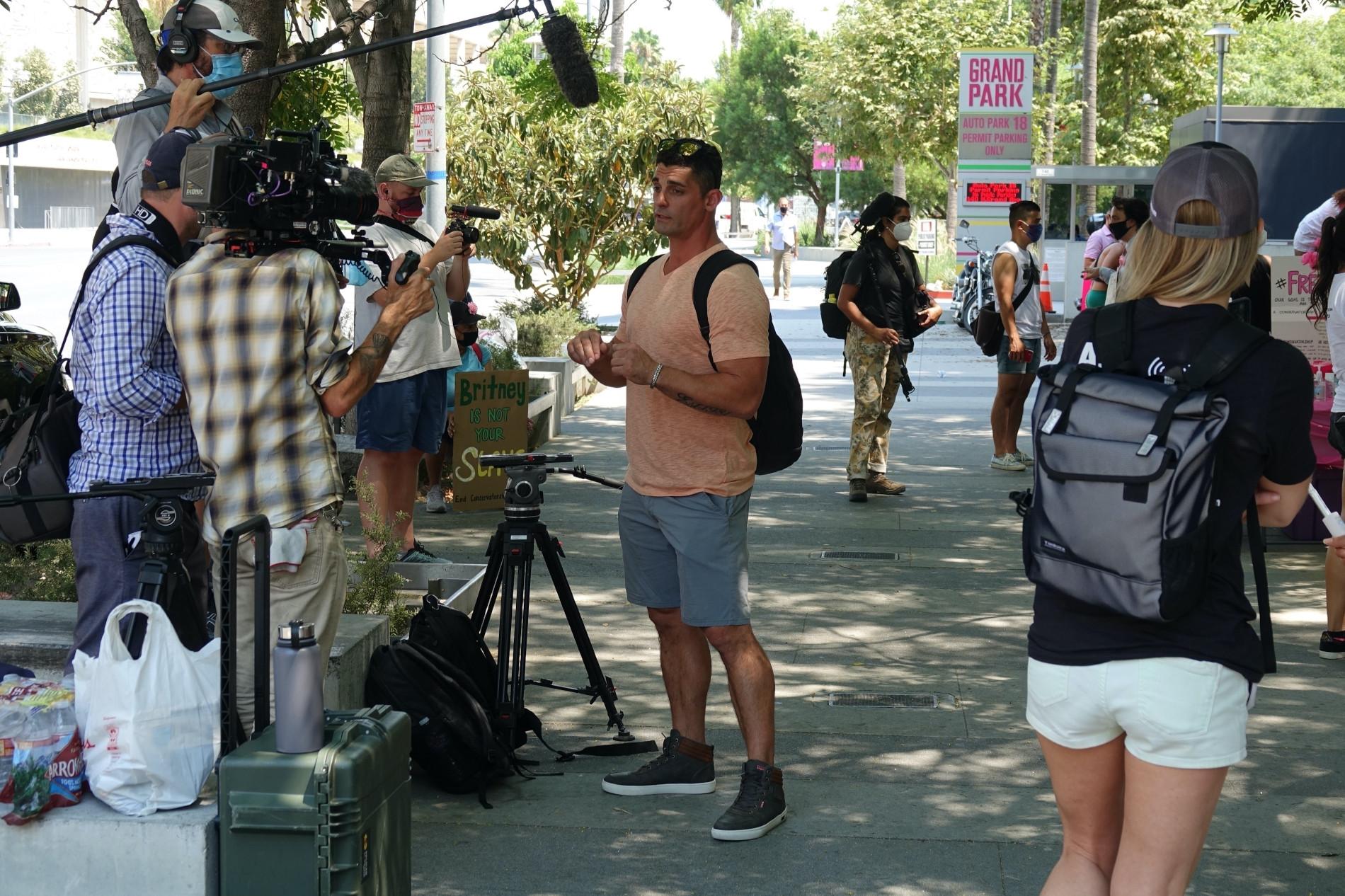 Były mąż Britney walczy o jej uwolnienie, fot. BACKGRID / Backgrid USA / Forum