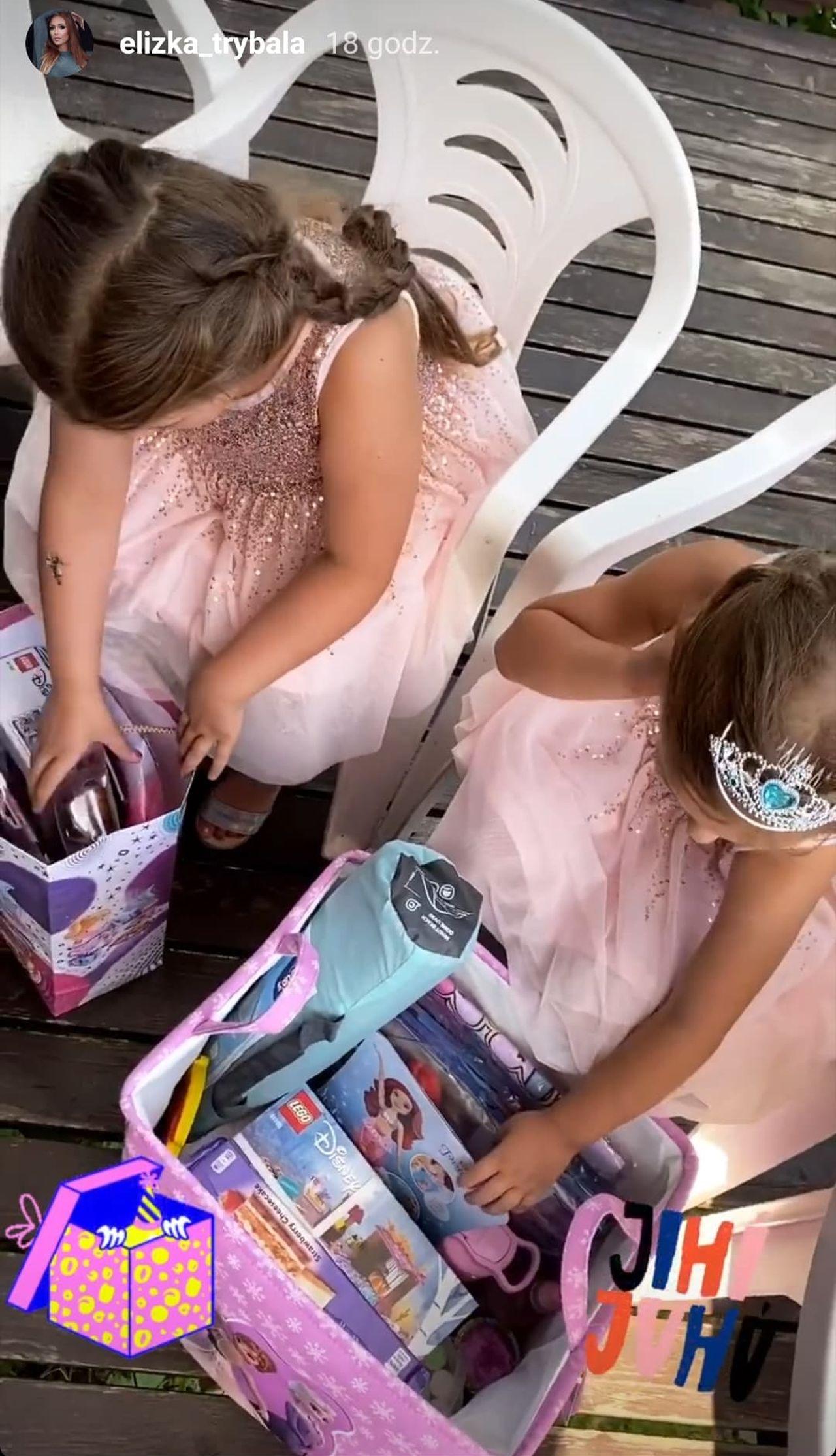 Elizka i Trybson wyprawili córce urodziny