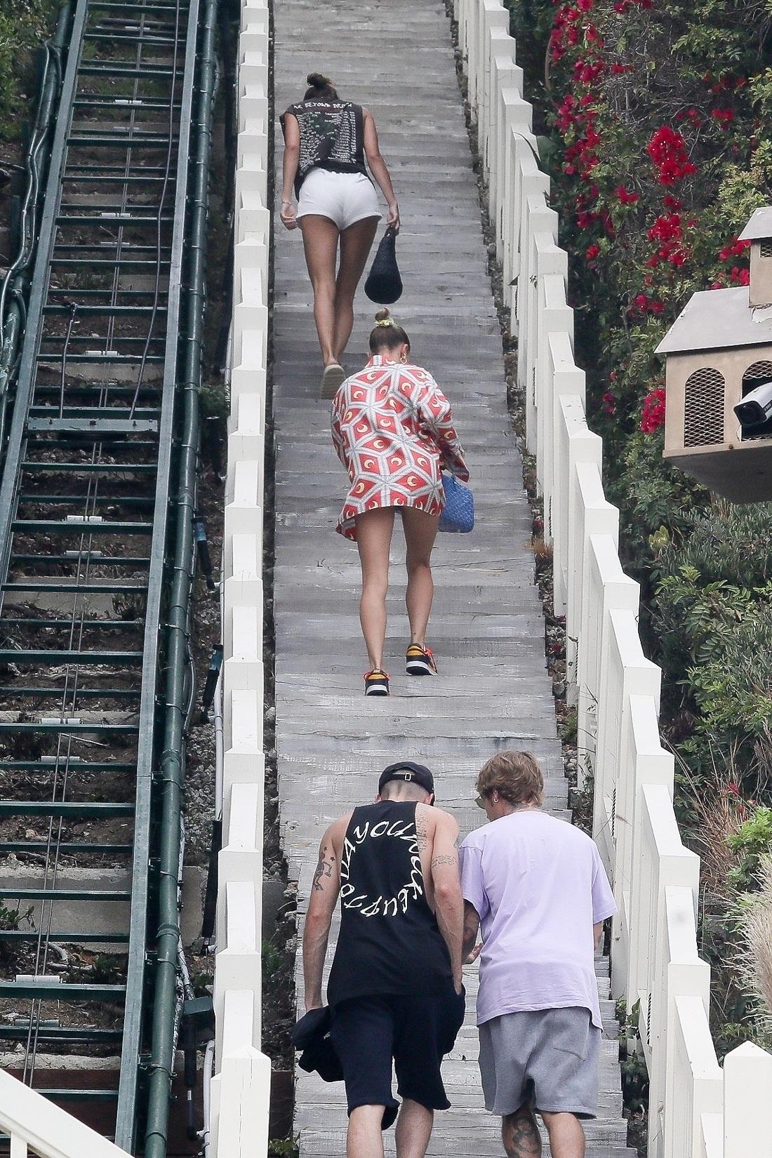 Justin Bieber i Hailey Bieber . Fot. NGRE / BACKGRID / Backgrid USA / Forum