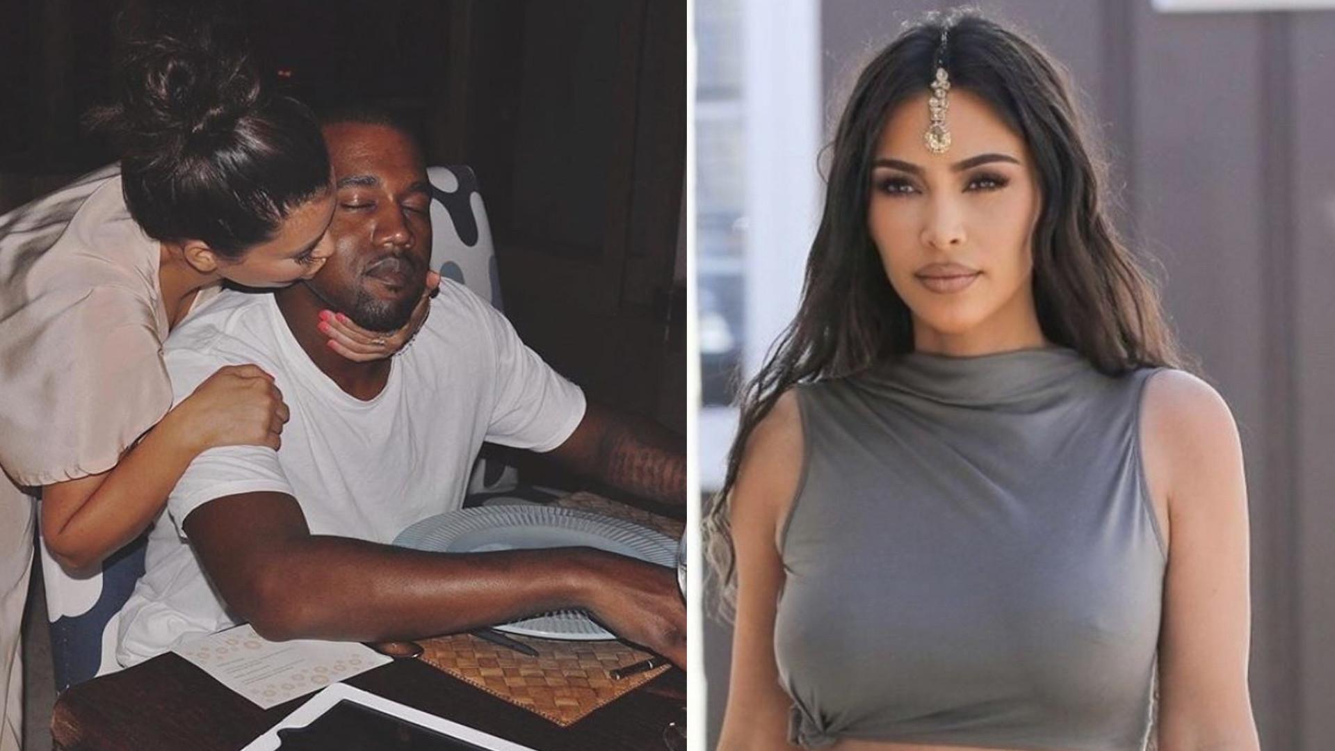 Kim Kardashian udostępniła PIERWSZE zdjęcie z Kanye od czasu plotek o rozwodzie. Szczęśliwa rodzina?
