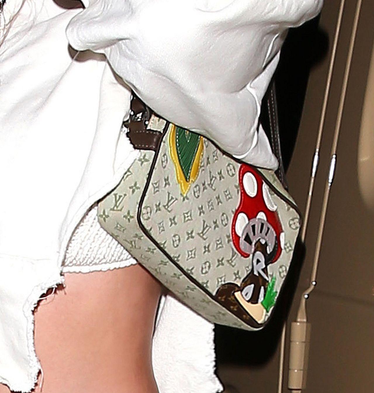 Kylie Jenner z torebką Louis Vuitton