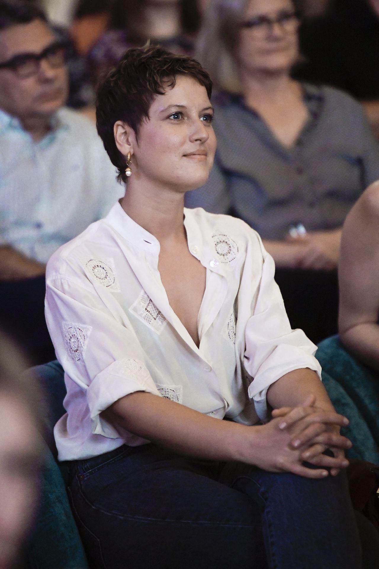 Aleksandra Domańska na widowni