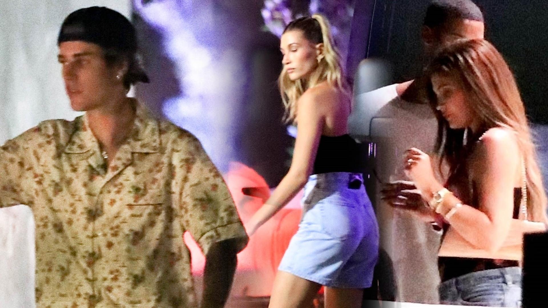 Justin Bieber zrobił GRUBĄ imprezę w domu. Nie zabrakło Kendall i Kylie (ZDJĘCIA)