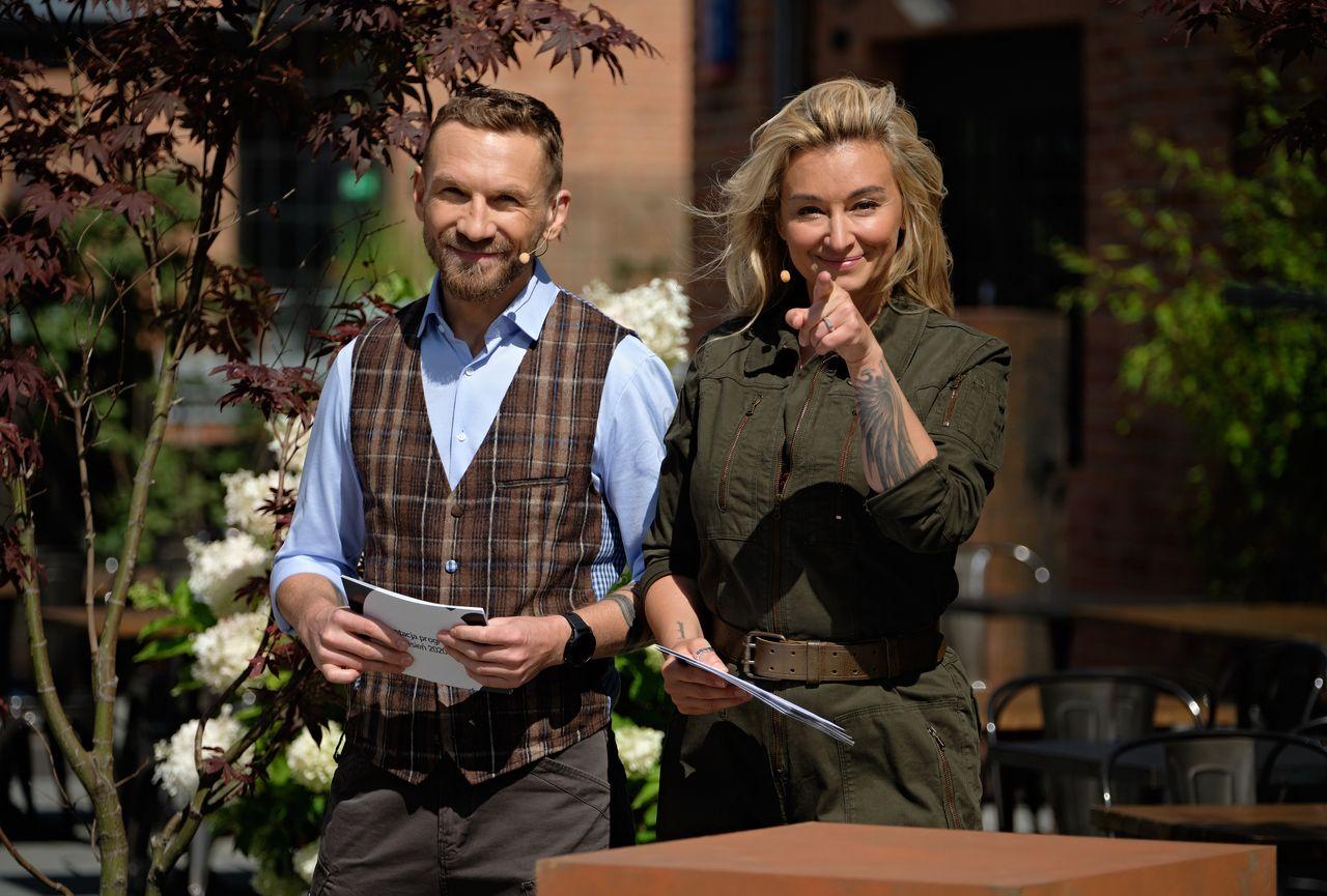 Przemysław Kossakowski, Martyna Wojciechowska na ramówce TVN