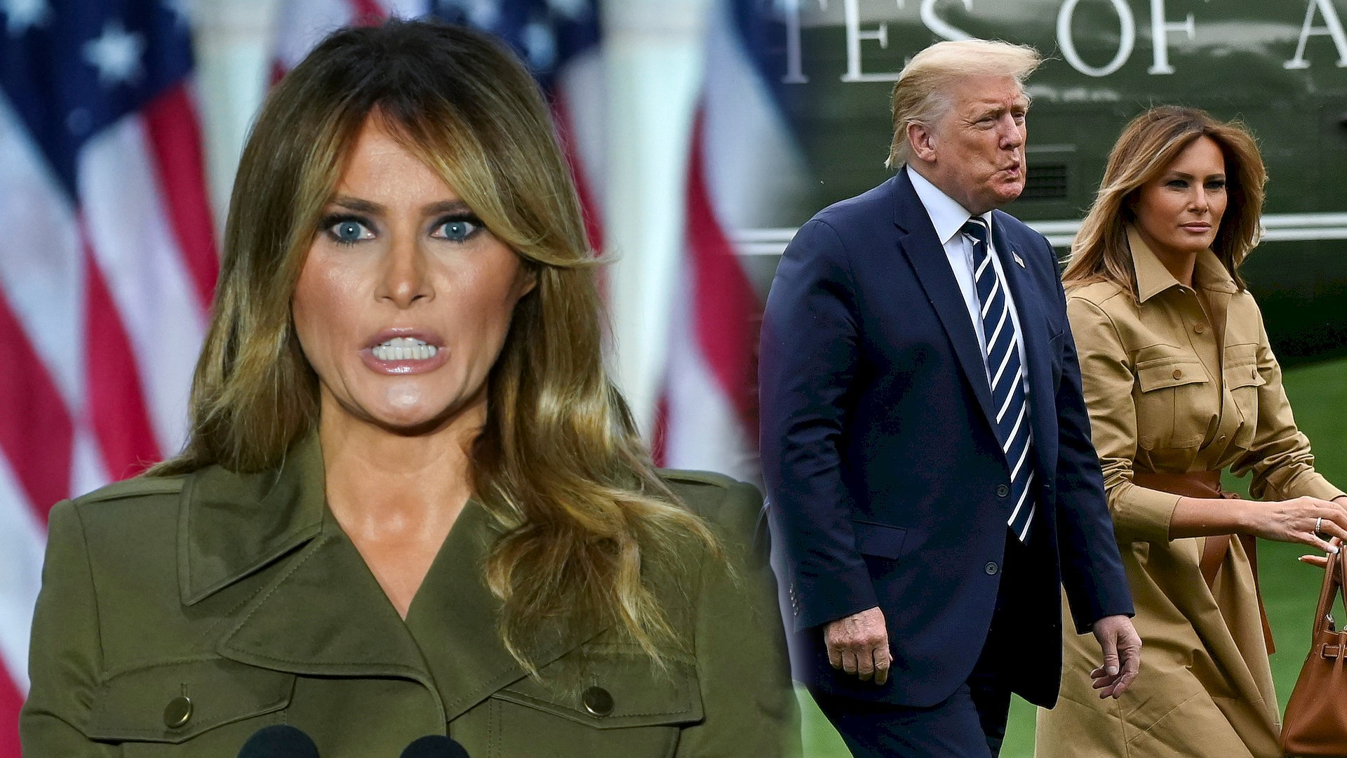 Melania Trump SKRYTYKOWANA za to, co zrobiła z ogrodem na tyłach Białego Domu: Zamieniłaś go w CMENTARZ
