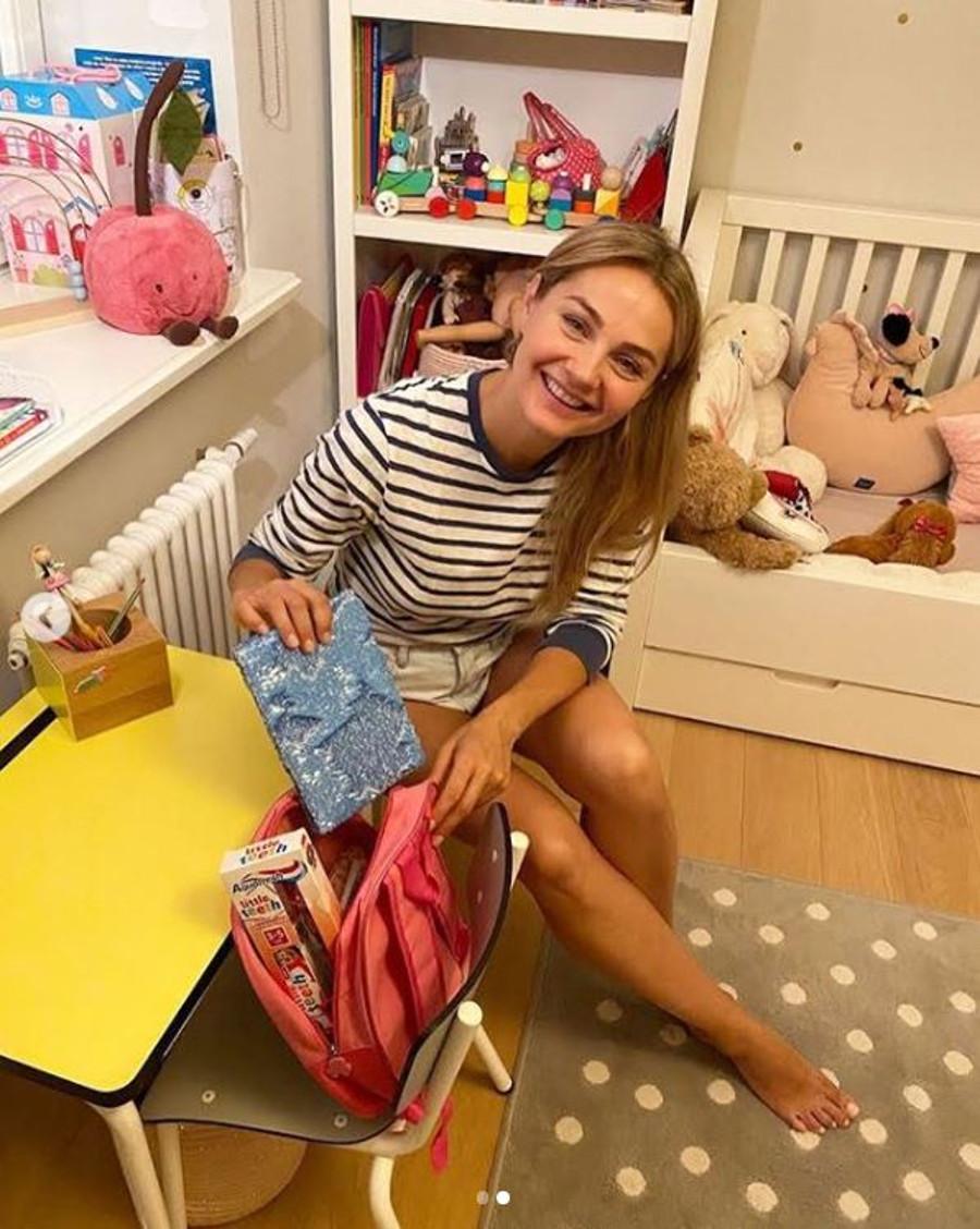 Małgosia Socha pokazała pokój córek.