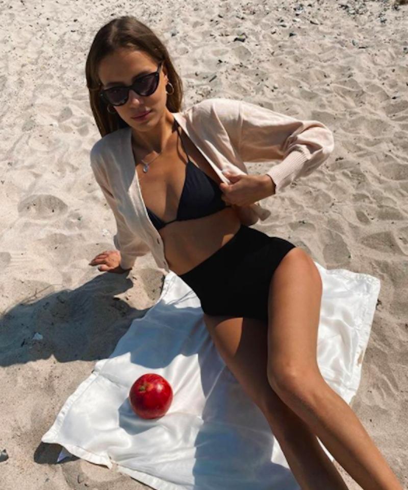 Nicole Poturalski - nowa dziewczyna Brada Pitta. Fot.screen Instagram