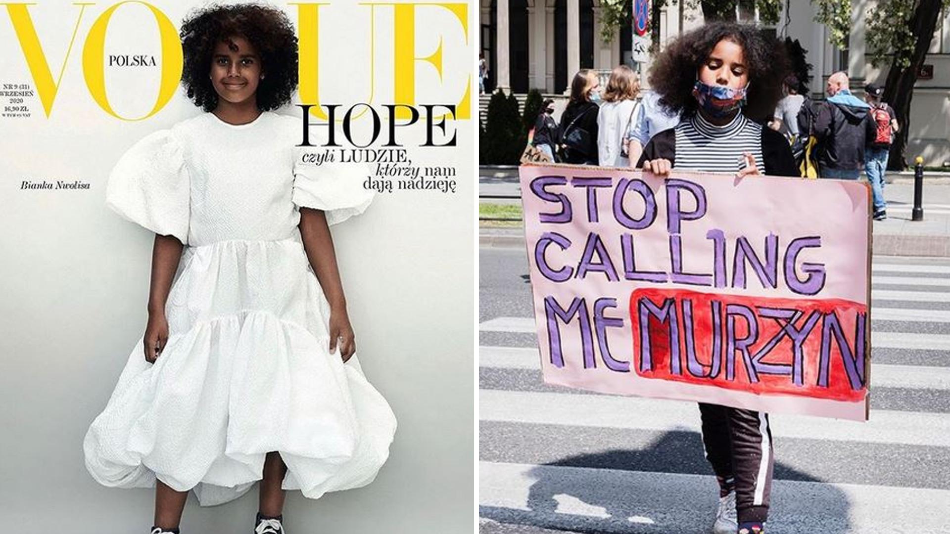 Bianka Nwolisa, 10-letnia aktywistka na okładce polskiego Vogue'a – dziewczynka, która zmienia świat