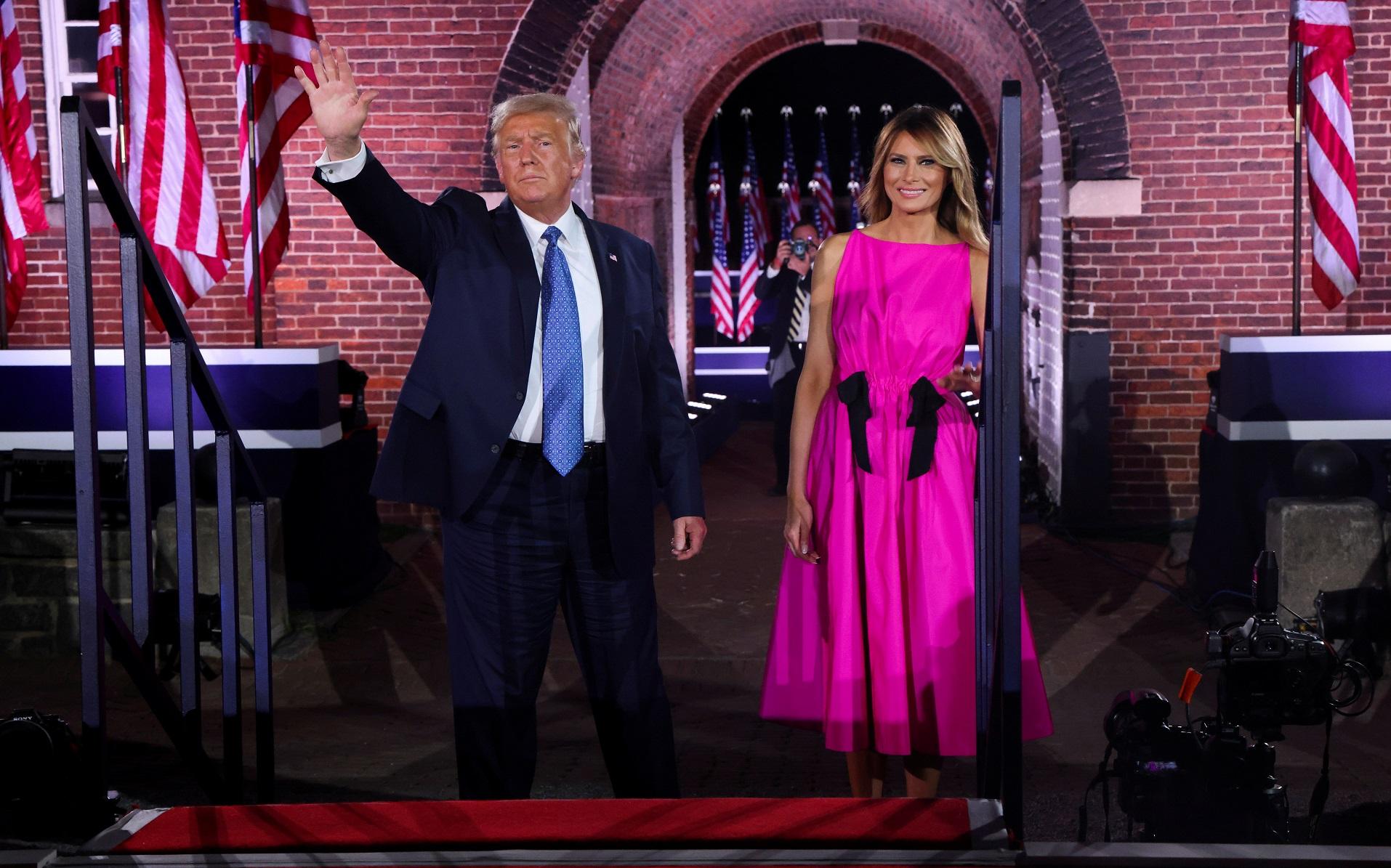 Melania Trump na konferencji Republianów