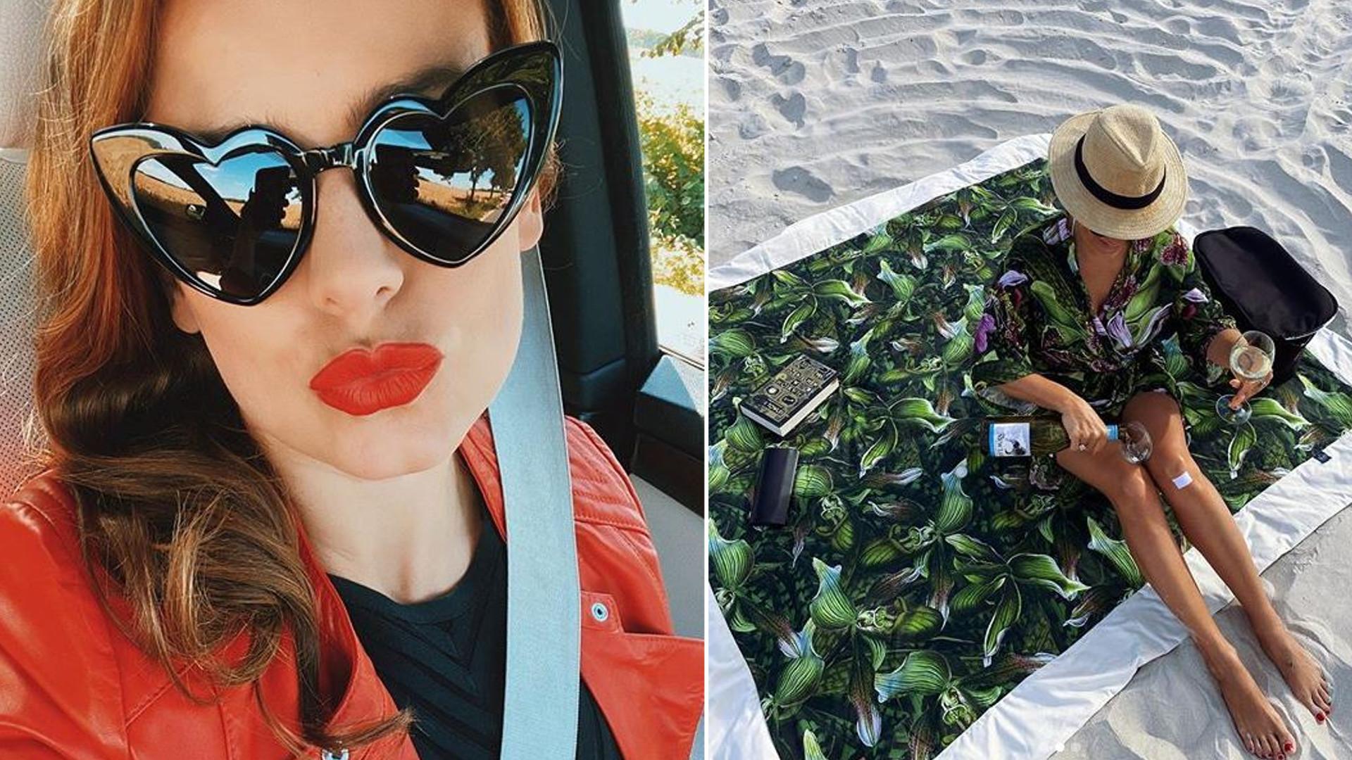 Anna Mucha spędza ROMANTYCZNY czas na plaży. Przypadkiem POKAZAŁA nowego partnera?