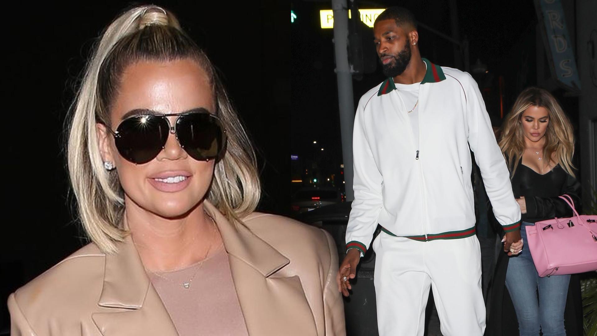 Khloe Kardashian WRÓCIŁA do Tristana. Scott Disick wygadał się o ich związku