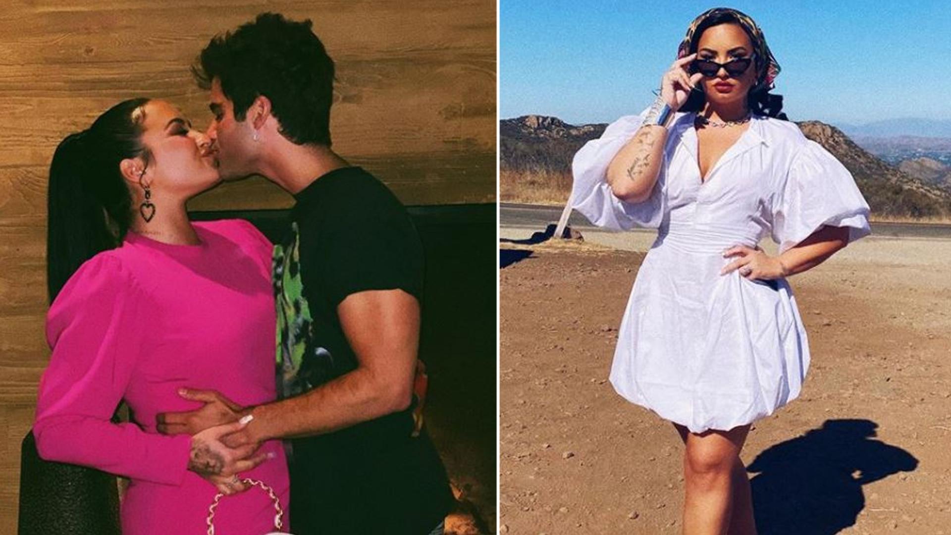 Demi Lovato rozkwitła przy narzeczonym. NIGDY nie była tak zakochana (FOTO)